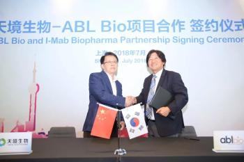 天境生物与ABL Bio就创新双特异性抗体开发项目建立全球战略合作关系