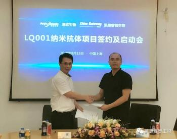强强联手!洛启生物与凯惠睿智生物携手推进LQ001纳米抗体项目