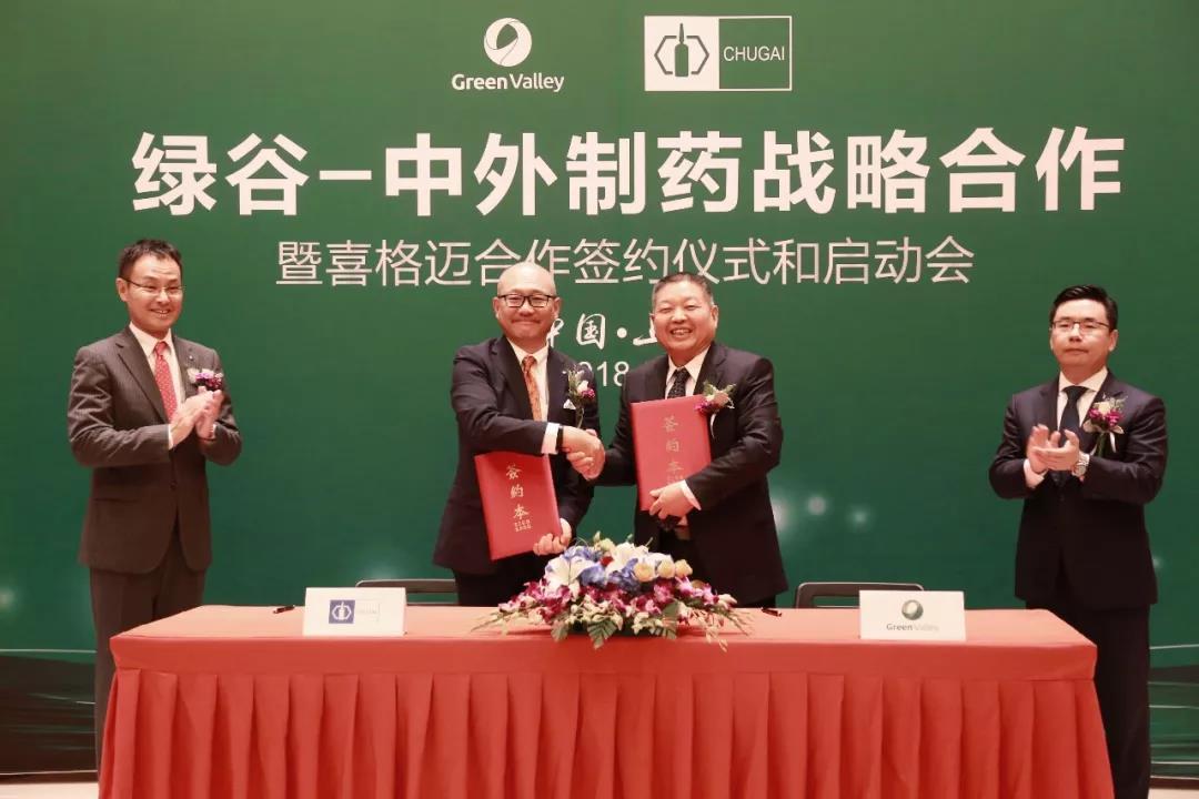 绿谷制药获日本中外制药[喜格迈]中国独家推广分销权